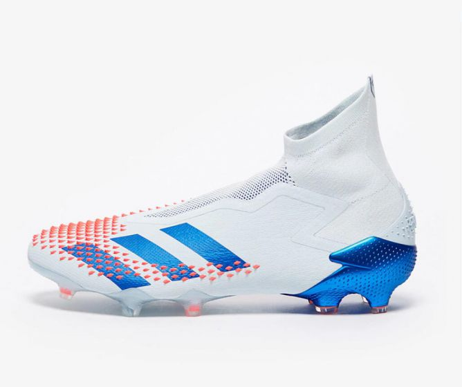 adidas Predator Mutator 20+ FG Sky Tint/Team Royal Blue/Signal Coral firm ground soccer cleats