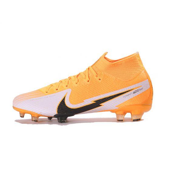Kids Nike Mercurial Superfly 7 Elite FG Laser Orange Black White Laser Orange