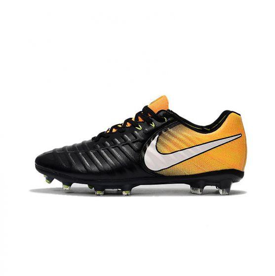 Nike Tiempo Legend VII FG Black White Yellow
