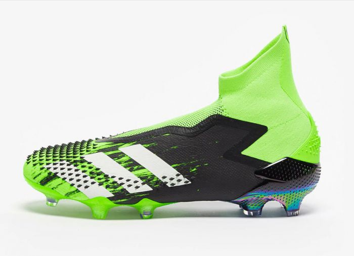 Adidas Predator Mutator+ FG - Signal Green/White/Core Black Soccer Cleats