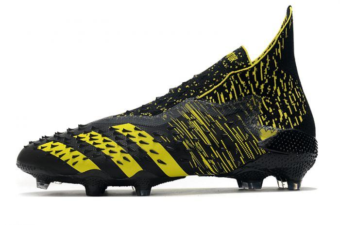 Adidas Predator Freak 'Numbersup' FG Black Solar Yellow