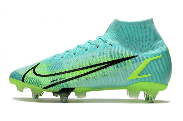 Nike Mercurial Superfly 8 Elite SG-PRO Dynamic Turquoise Lime Glow