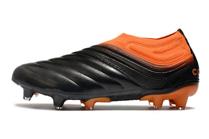 Adidas Copa 20+FG Black Signal Orange Soccer Cleats