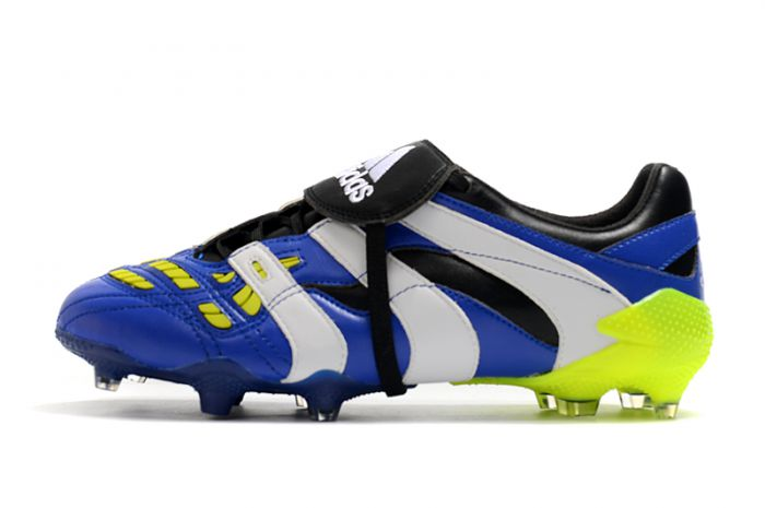 Adidas Predator Accelerator 20 Hyperlative FG - Royal Blue/White/Lime Soccer Cleats