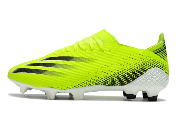 adidas X Ghosted .1 FG Volt Black Cleats
