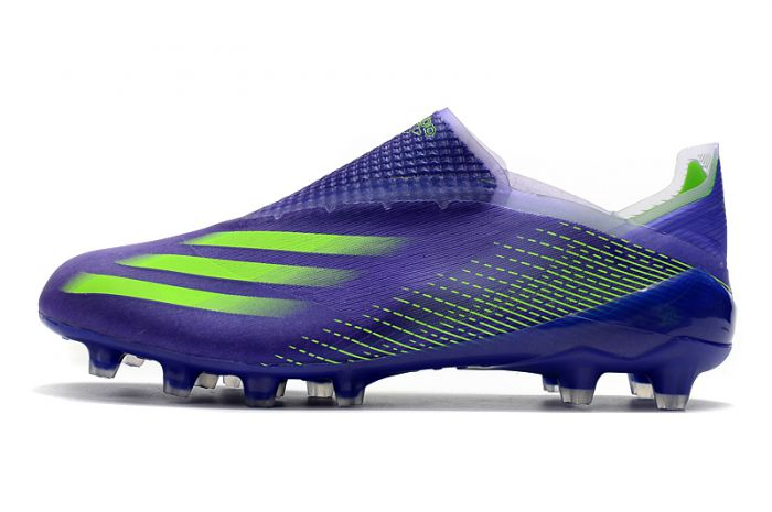 Adidas X Ghosted + AG Precision to Blue Pack Soccer Cleats