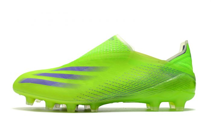 Adidas X Ghosted + AG Yellow Black Cleats