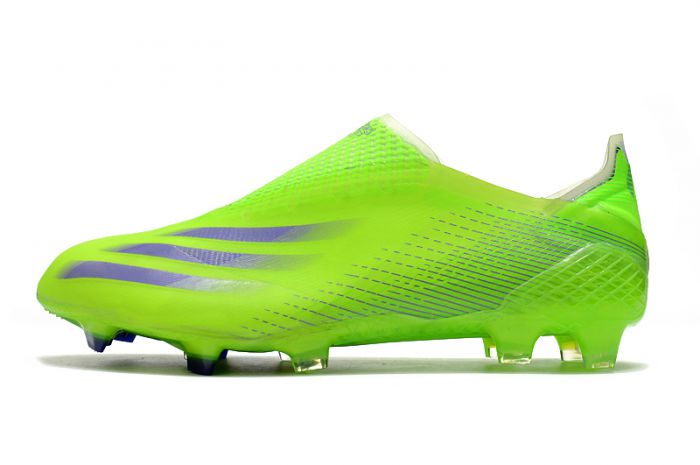 Adidas X Ghosted FG Yellow Black Cleats