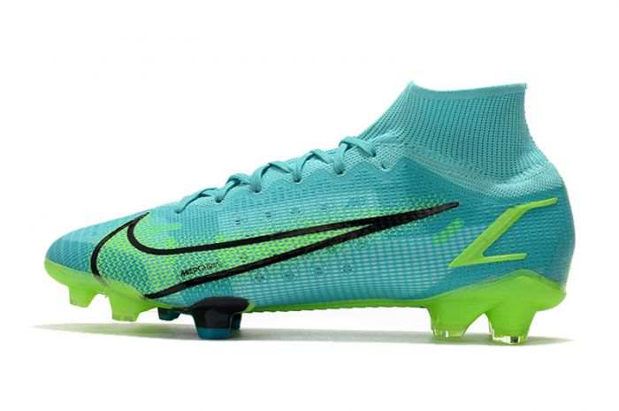 Kids Nike Mercurial Superfly 8 Elite FG Dynamic Turquoise Lime Glow
