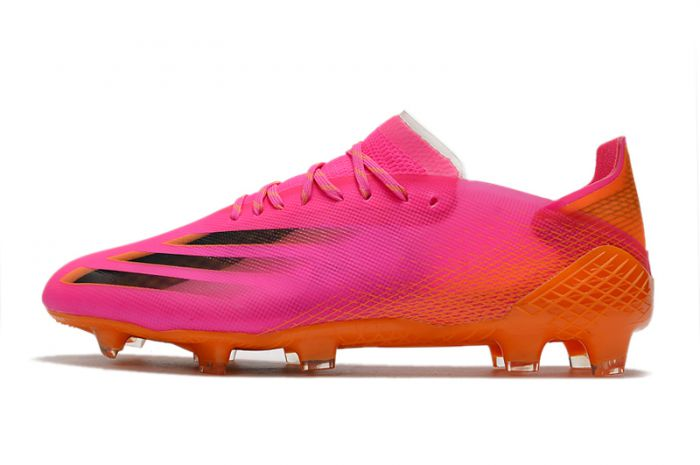adidas X Ghosted.1 FG Football Boots Shock Pink/Core Black/Screaming Orange
