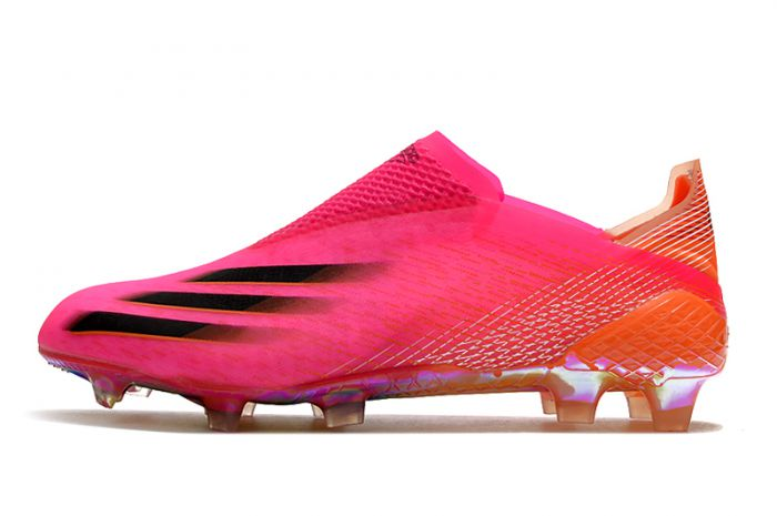 adidas X Ghosted+ FG Football Boots Shock Pink/Core Black/Screaming Orange