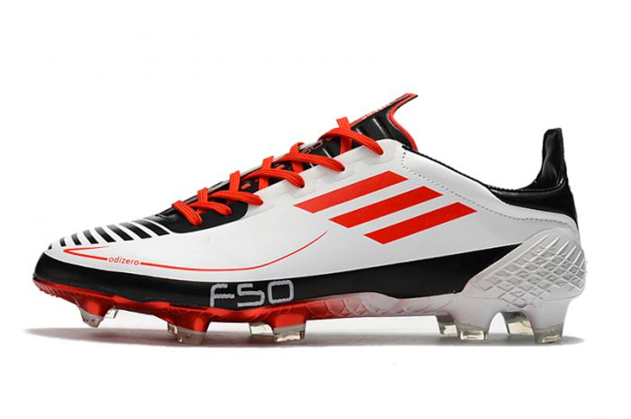 adidas F50 Ghosted Adizero Football Boots Cloud White / Red / Core Black