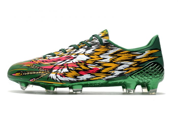 adidas F50 Ghosted Adizero Crazylight Football Boots Bold Green / Shock Pink / Cloud White