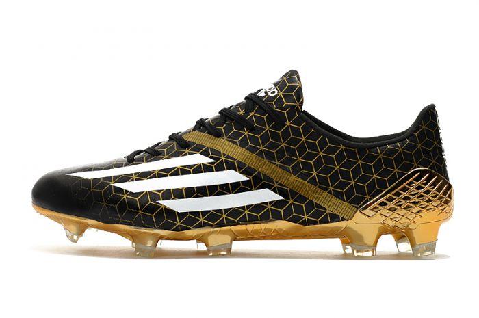 adidas F50 Ghosted Adizero Crazylight Football Boots Core Black / Cloud White / Gold Metallic