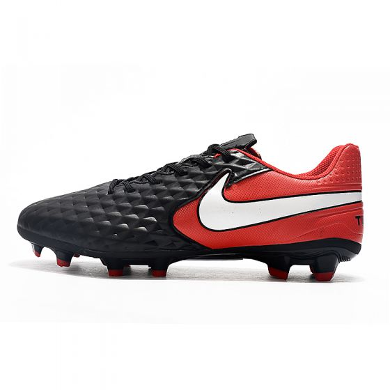 Nike Tiempo Legend 8 Elite FG Black White Red