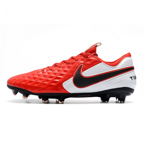 Nike Tiempo Legend 8 Elite FG Laser Crimson Black White
