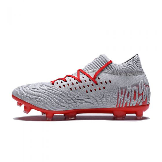 Puma Future 4.1 Netfit FG/AG - Glacial Blue/Energy Red/High Risk Red