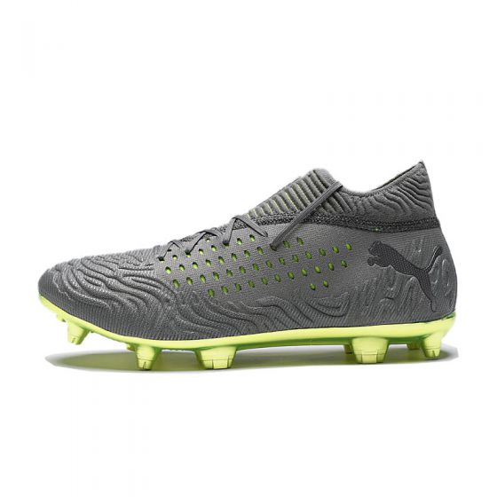 Puma Future 19.1 Limited Edition FG/AG - Aged Silver/Charcoal Grey/Fizzy Yellow