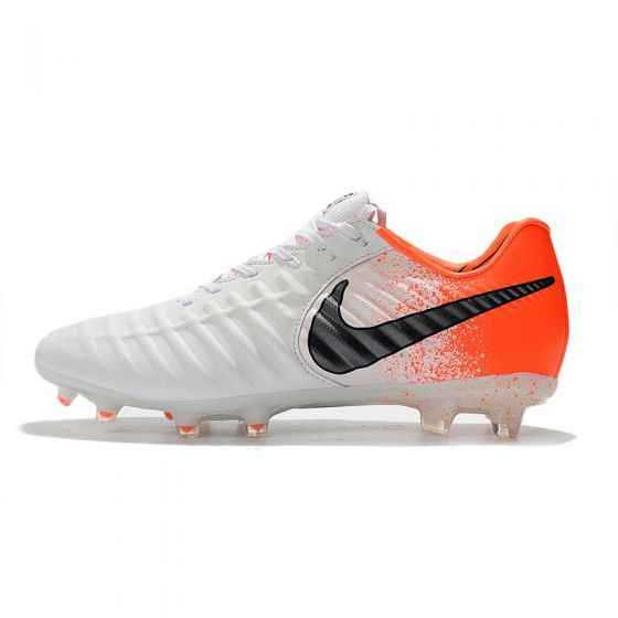 Nike Tiempo Legend VII Elite FG White Black Hyer Crimson
