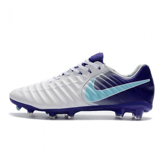 Nike Tiempo Legend VII Elite FG White Purple