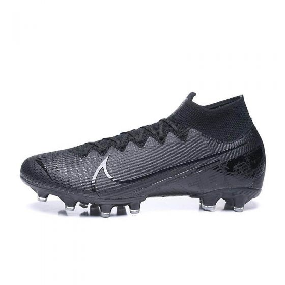 Kids Nike Mercurial Superfly VII Elite AG Under The Radar Black Iridescent Metallic
