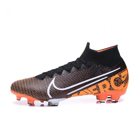 Kids Nike Mercurial Superfly VII FG Limited Edition Black White Hyper Crimson