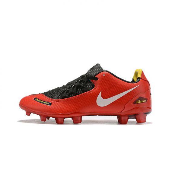 Kids Nike T90 Laser I SE FG Red Black