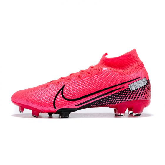 Kids Nike Mercurial Superfly 7 Elite FG Future Lab - Laser Crimson/Black
