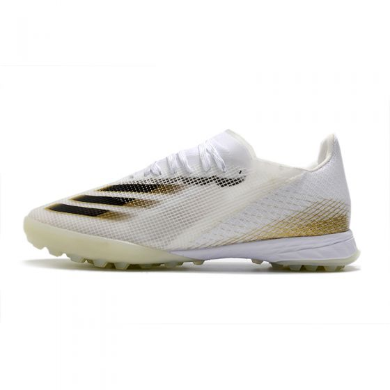 adidas X Ghosted .1 TF - White/Core Black/Metallic Gold Melange