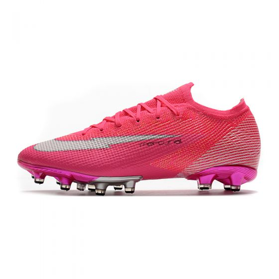 Kids Nike Mercurial Vapor 13 Elite AG-PRO x Mbappé - Pink Blast/White/Black