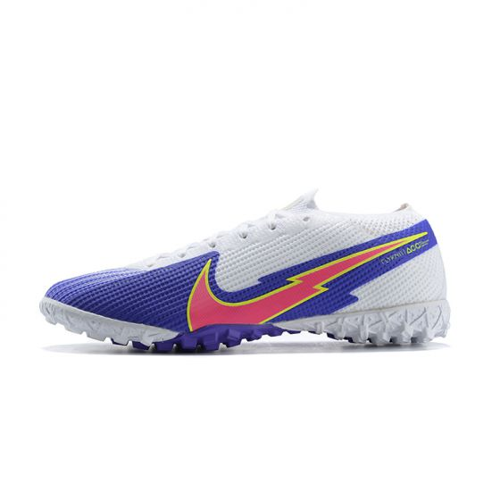 Nike Mercurial Vapor VII 7 Elite TF White Blue Pink