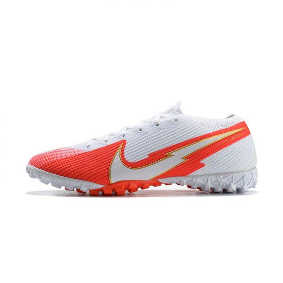 Nike Mercurial Vapor VII 7 Elite TF White Orange