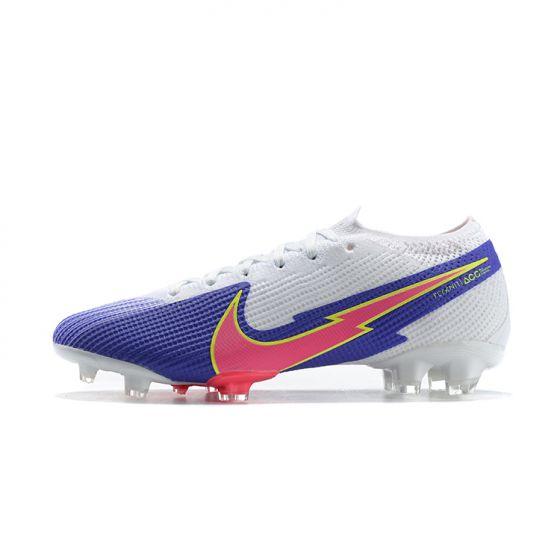 Nike Mercurial Vapor VII 13 Elite FG White Blue Pink