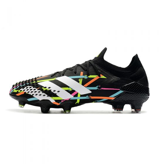 adidas X Reuben Predator Mutator 20.1 Low FG Art Black Multicolor