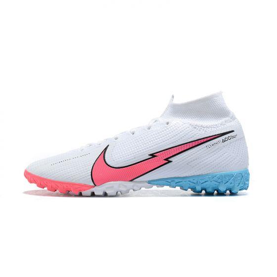 Nike Mercurial Superfly VII Elite TF'South Korea' White Red Orbit Black Pink Beam