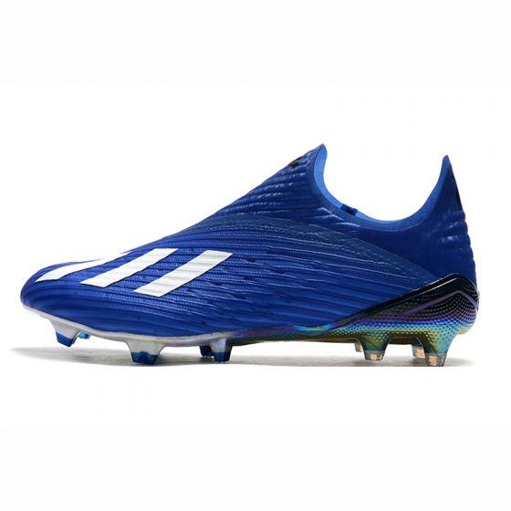 Kids adidas X 19+ FG AG Mutator Royal Blue Footwear White Core Black