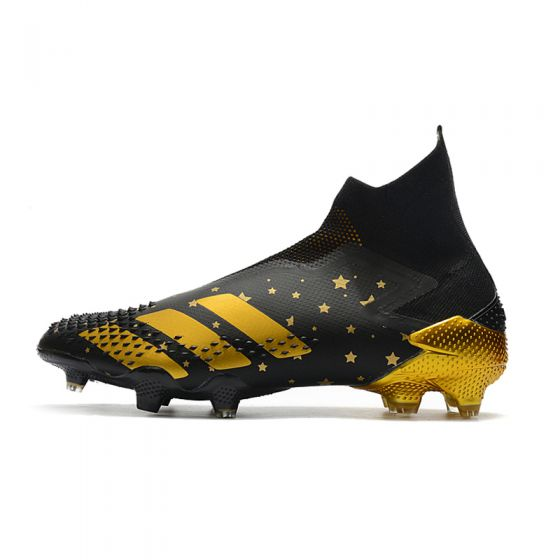 Kids adidas Predator Mutator 20+ FG/AG Core Black/Gold Metallic