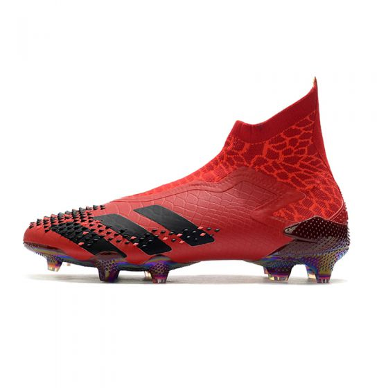 adidas Predator Mutator 20+ FG/AG Dragon - Collegiate Burgundy/Core Black/Solar Red LIMITED EDITION