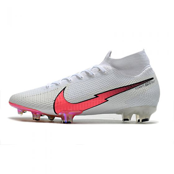Nike Mercurial Superfly 7 Elite FG Flash Crimson Pack White with Flash Crimson
