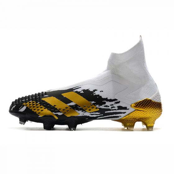 Kids adidas Predator Mutator 20+ FG/AG Inflight - White/Gold Metallic/Core Black