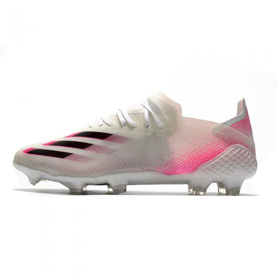 adidas X Ghosted 20.1 FG - White/Core Black