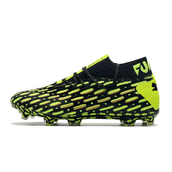 PUMA Future 5.1 Netfit FG/AG Spark PUMA Black Ultra Yellow