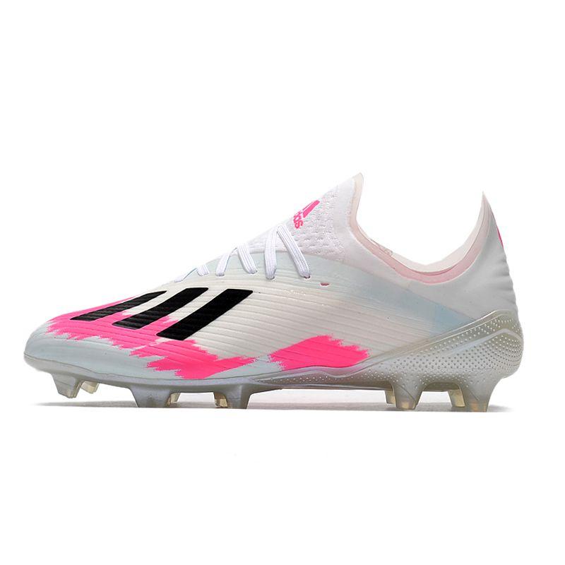 adidas X 19.1 FG Football Boots White Pink