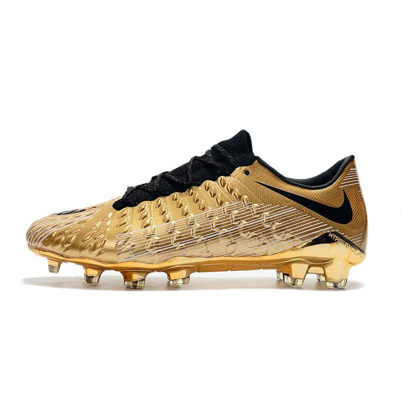 Nike Hypervenom 3 Elite DF FG Gold Black