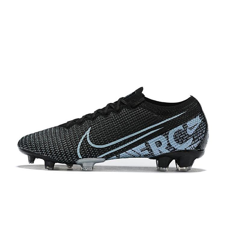 blue and black nike football boots