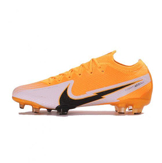 Nike Mercurial Vapor XIII Elite FG Laser Orange Black White Laser Orange