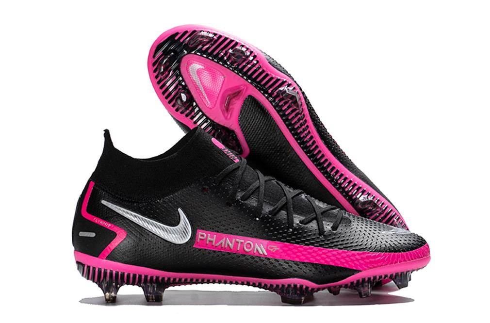 Special Black Pink Blast Nike Phantom GT Elite Soccer Shoes Review