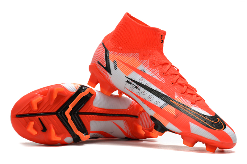 Awsome Selections on Kids Nike Mercurial Superfly 8 Elite CR7 FG Chile Red