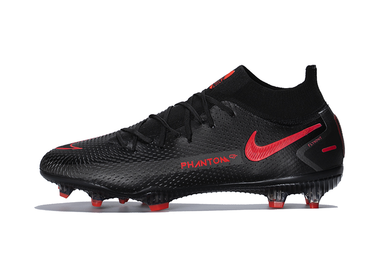 Team Up With Nike Phantom GT Elite FG Chile Red Black